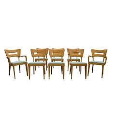 Set of Eight Vintage Heywood Wakefield Dogbone Chairs 30% OFF original price