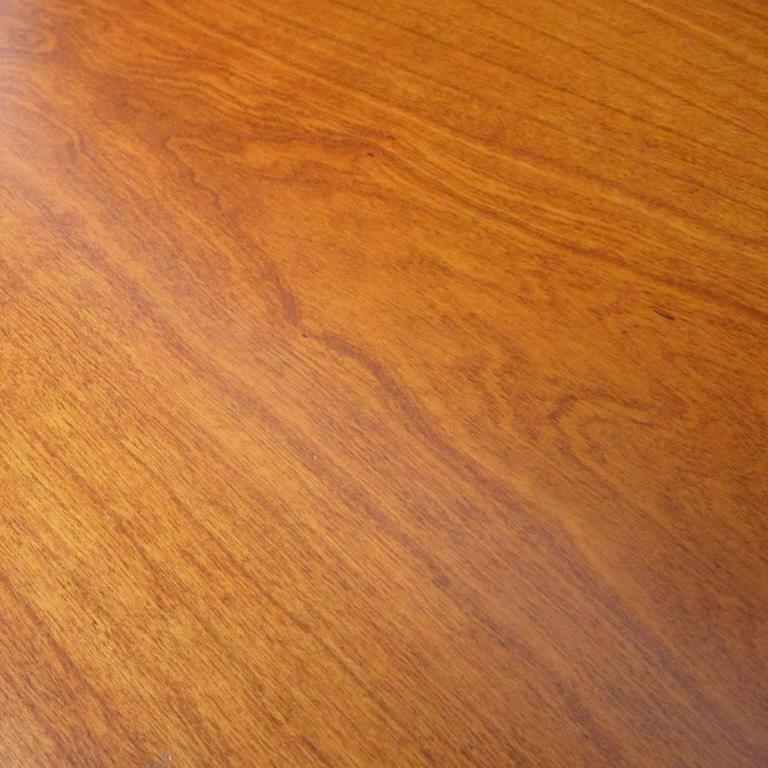 Vintage Herman Miller Table or Desk with Walnut Top 4