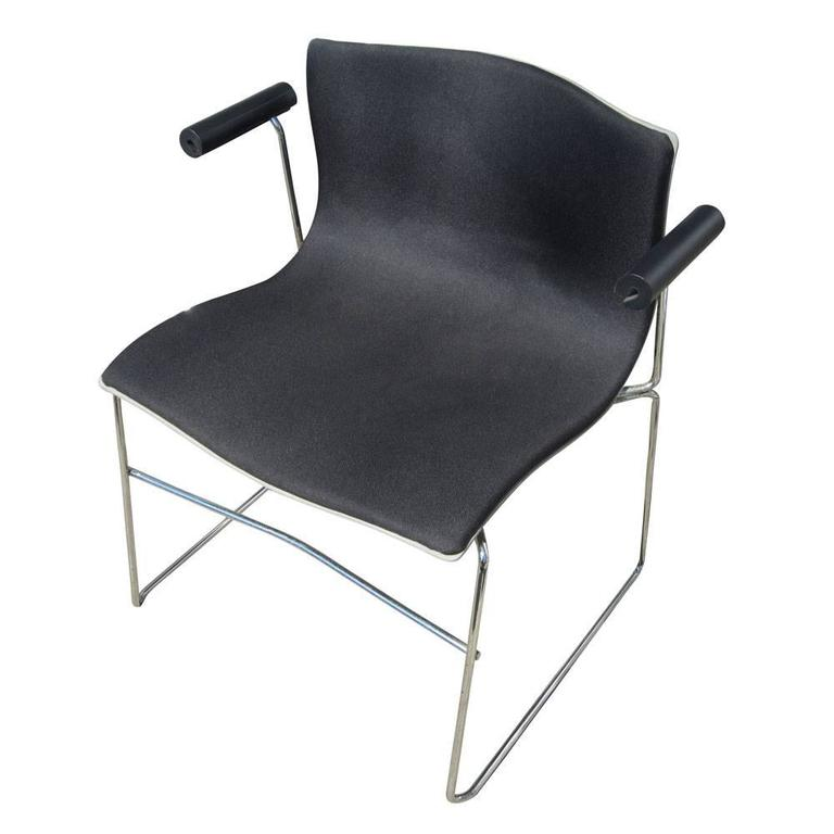 American Vintage Set of Eight Handkerchief Armchairs by Vignelli for Knoll For Sale