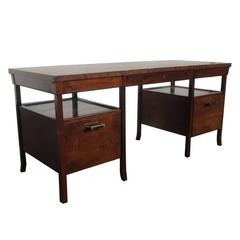 Vintage Baker Bridger Library Desk by Bill Sofield