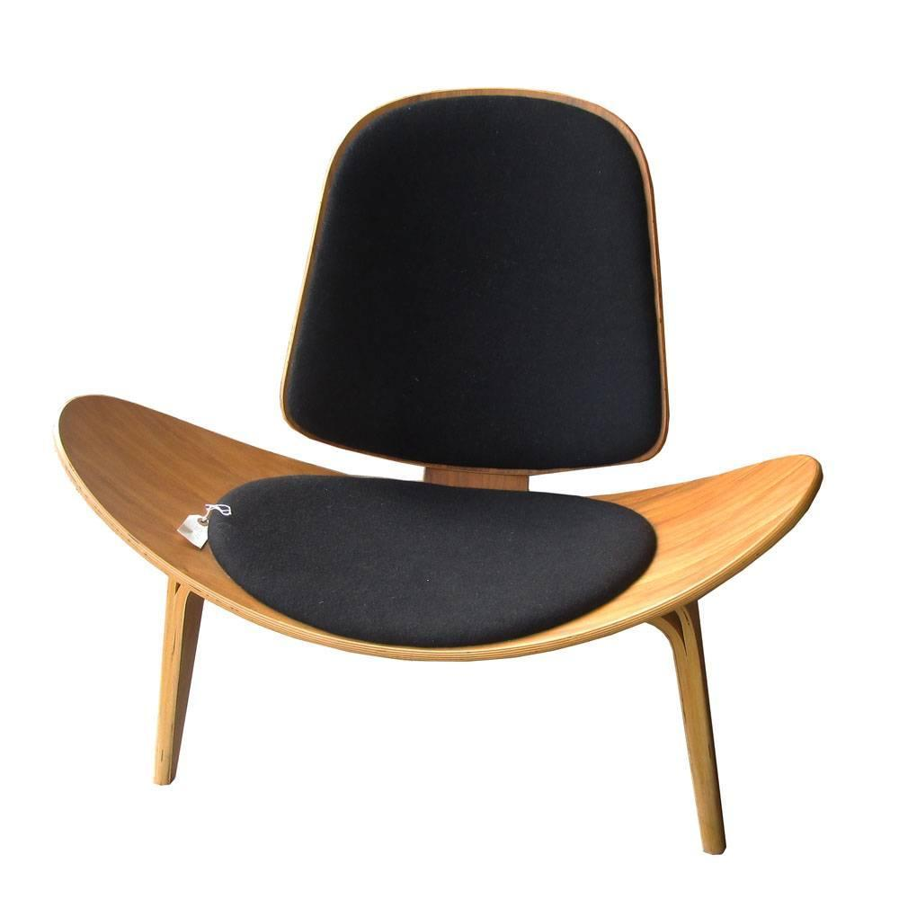 Vintage Midcentury Hans Wegner Skalstol Shell Chair For Carl Hansen At 1stdibs