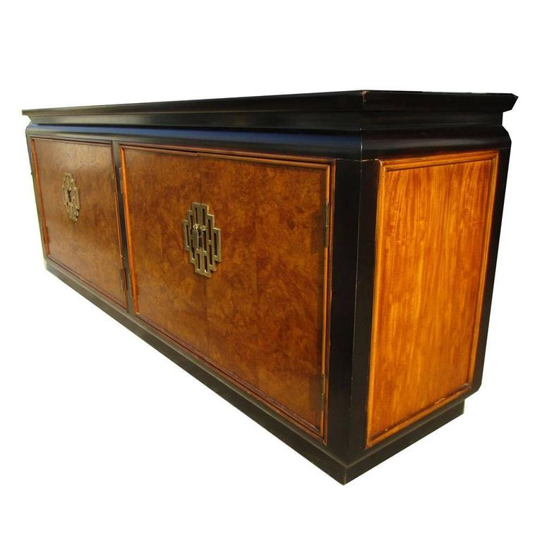 Vintage Chin Hua Asian Hollywood Regency Credenza for