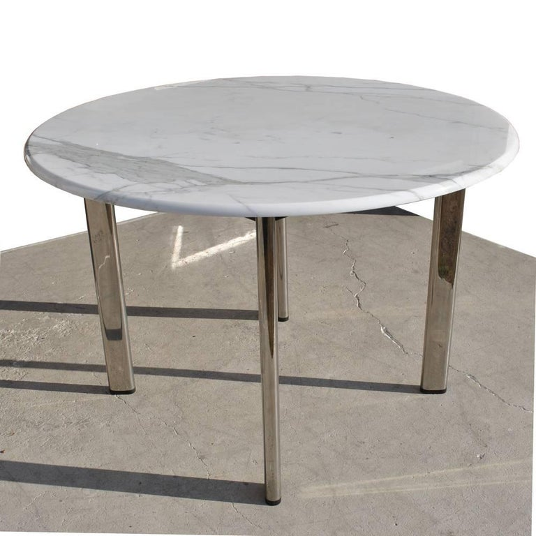A Mid Century Modern Table Designed By Joe D Urso And Made Knoll Which
