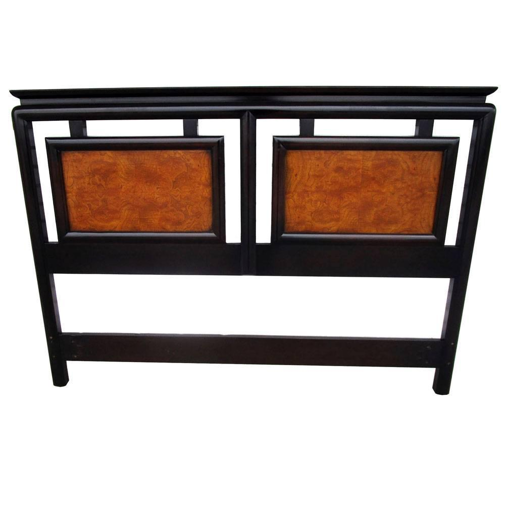 Century Furniture Asian Motif Queen Headboard