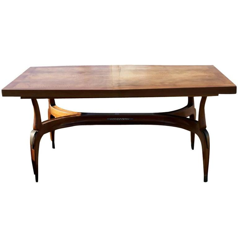 9ft Vintage Italian Extension Dining Table For Sale At 1stdibs