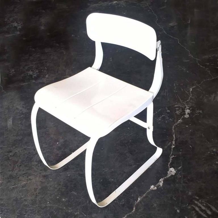 Mid-Century Modern Herman Sperlich For Ironrite Health Chair For Sale