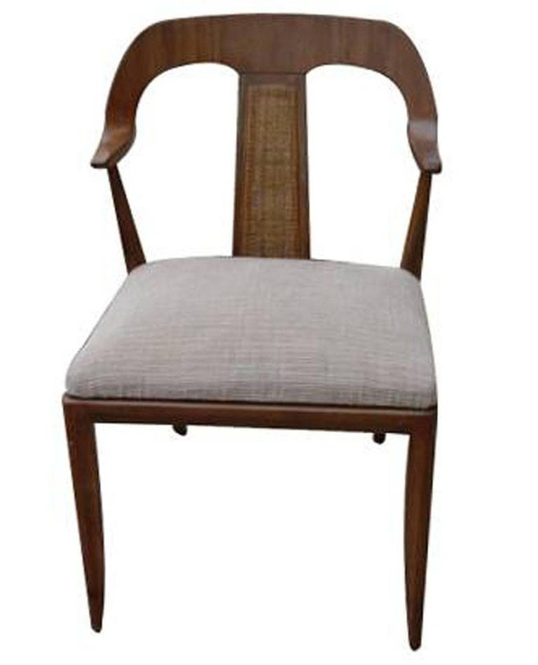 Teak Set of Four Vintage Danish Style Side Dining Chairs For Sale