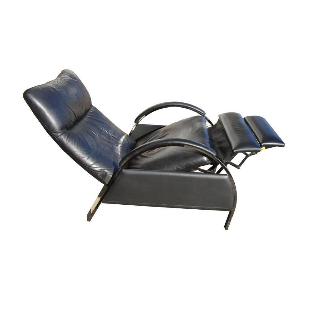 Ordinaire Mid Century Modern Vintage DIA Milo Baughman Reclining Lounge Chair For Sale