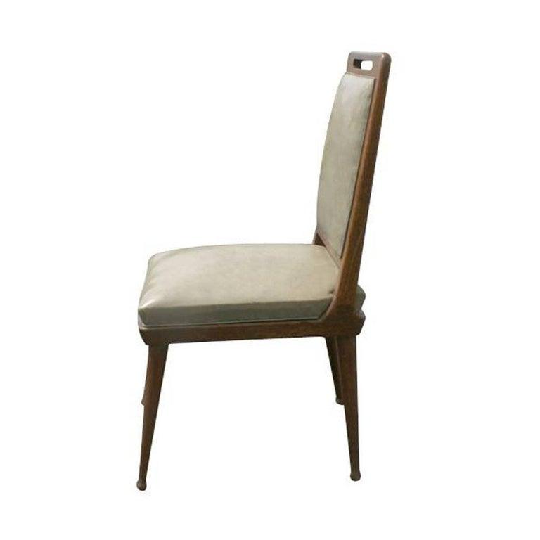 Mid-Century Modern 6 Italian Mid Century Modern Dining Chairs   For Sale
