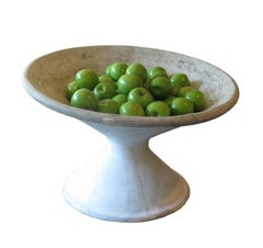 Large Mid-Century Concrete Bowl