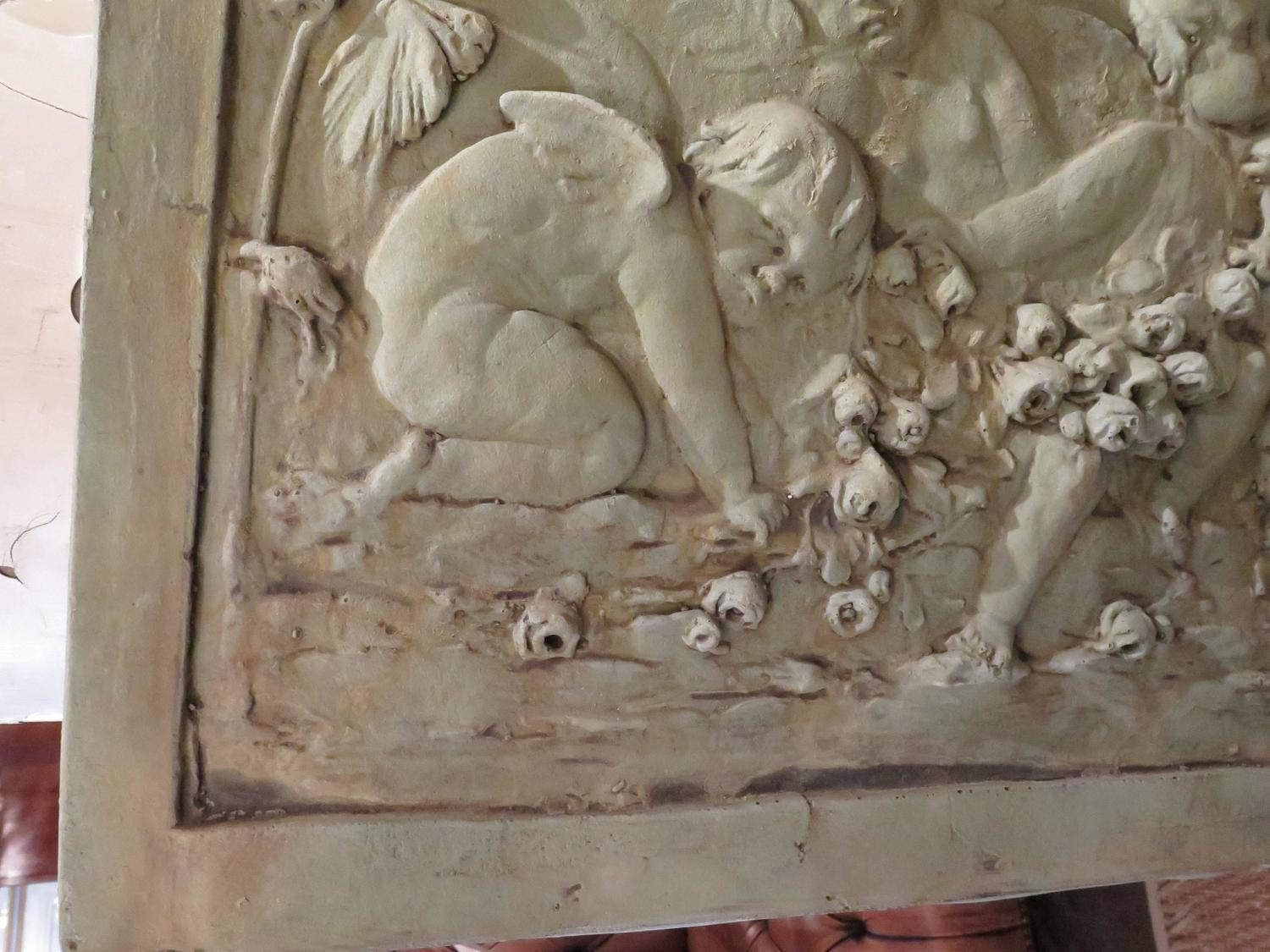 Cast garden relief sculpture for sale at stdibs