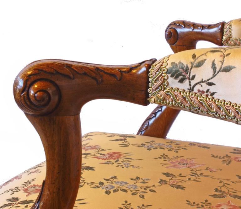George Ii Elbow Chair With Hairy Paw Feet For Sale At 1stdibs