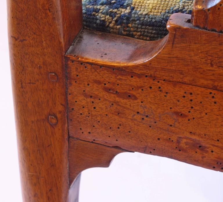 18th Century George I Walnut Armchair 8