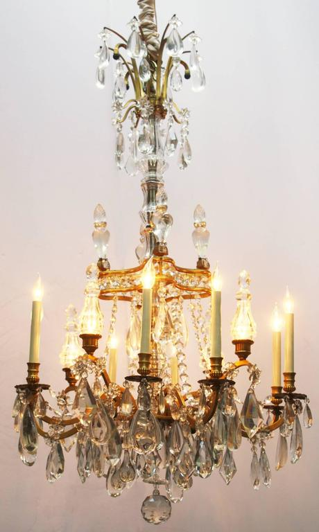 French Crystal Chandelier At 1stdibs