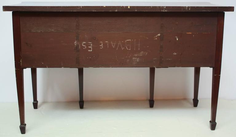 Inlay George III Mahogany Inlaid Sideboard For Sale