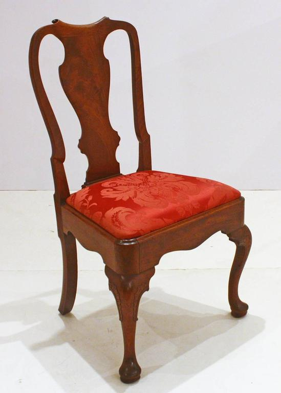 English George II Side Chairs/Group of Five For Sale