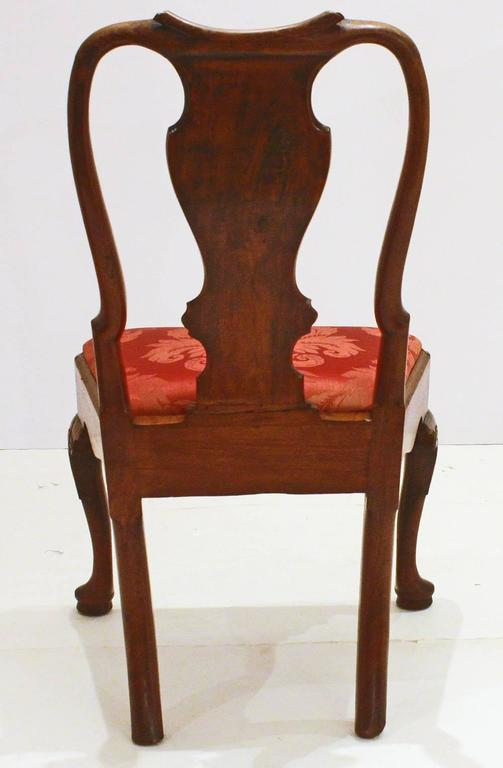George II Side Chairs/Group of Five In Good Condition For Sale In Dallas, TX