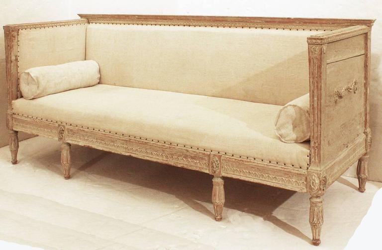 Early 19th Century Gustavian Sofa For Sale At 1stdibs