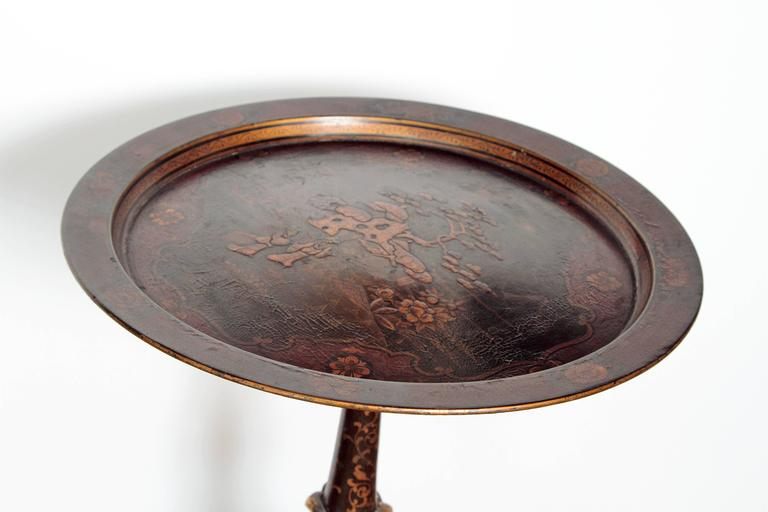 19th Century Papier Mache Occasional Table 4