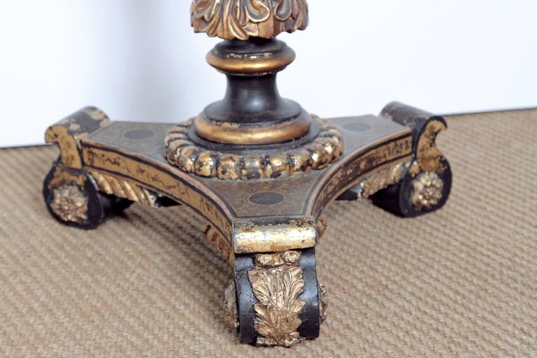 19th Century Papier Mache Occasional Table 5
