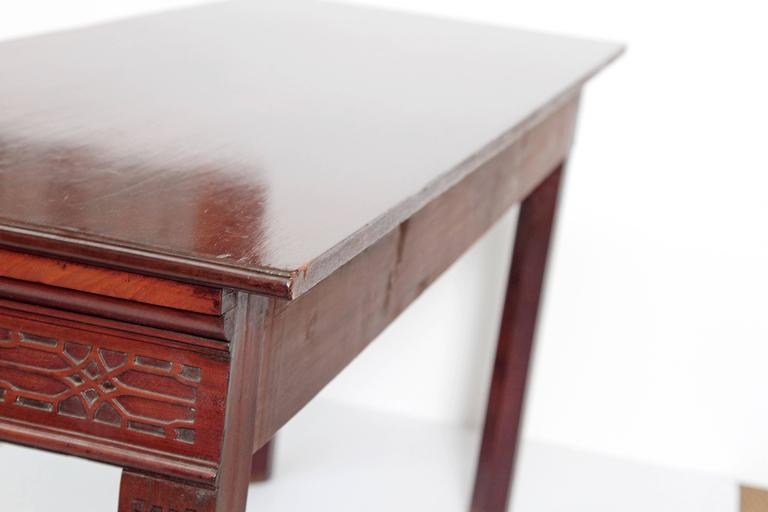 George III Mahogany Side Table 4