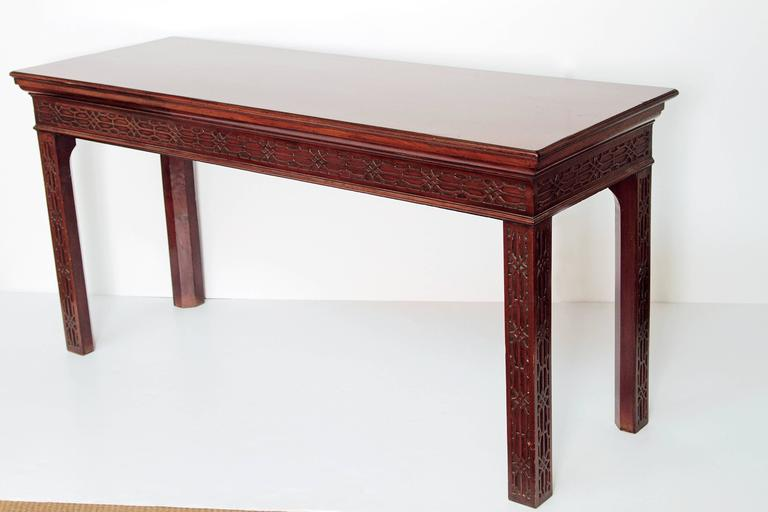 George III Mahogany Side Table 3