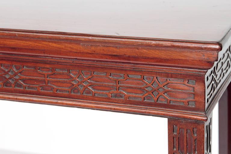 George III Mahogany Side Table 5