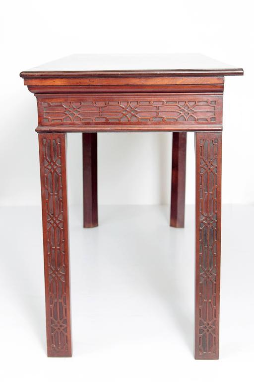 George III Mahogany Side Table 6