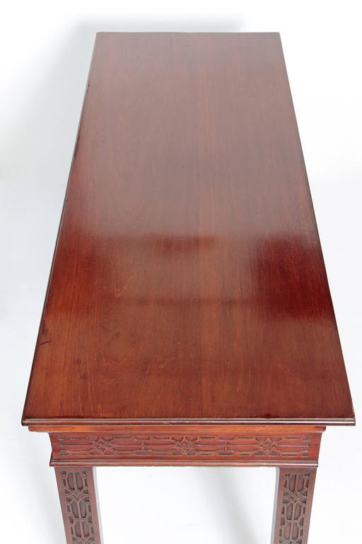 George III Mahogany Side Table 7
