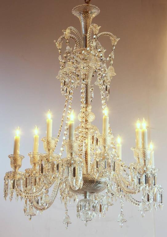 philippe starck for baccarat zenith long twelve light chandelier at 1stdibs. Black Bedroom Furniture Sets. Home Design Ideas