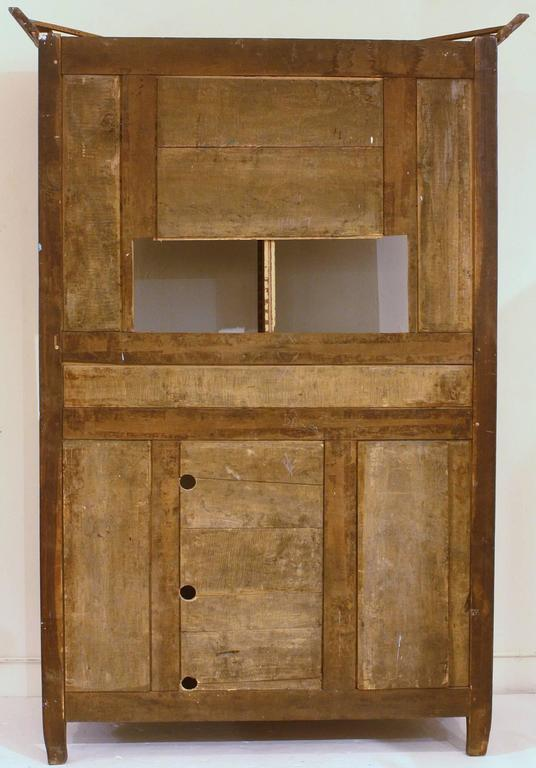 Carved Large 18th Century French Walnut Armoire For Sale