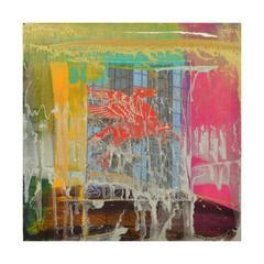 Pegasus Signed Original Abstract Painting 7463