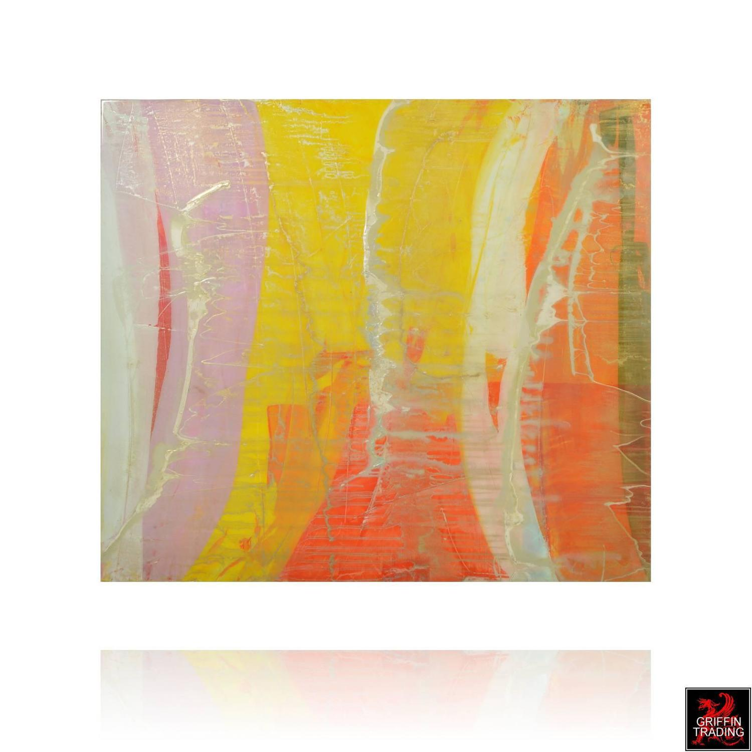 Signed original abstract painting for sale at 1stdibs for Original abstract paintings for sale