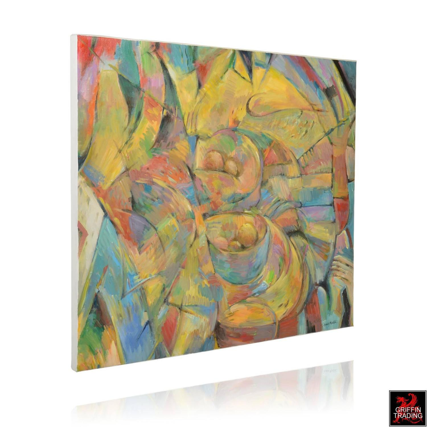 Table for Kandinsky, Signed Original Painting For Sale at ...