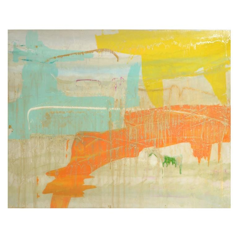 Signed Original Abstract Painting 7400 For Sale