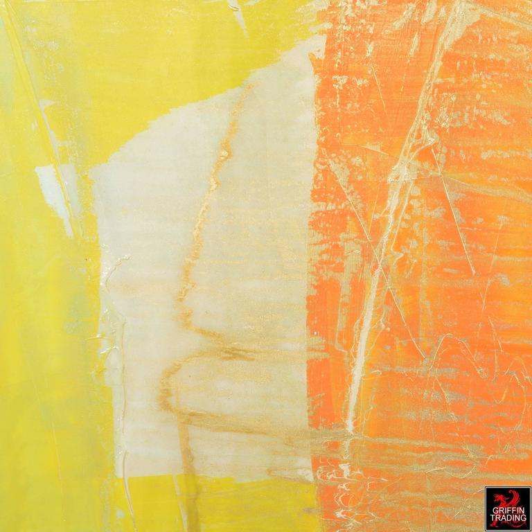 Signed Original Abstract Painting 7400 In Excellent Condition For Sale In Dallas, TX