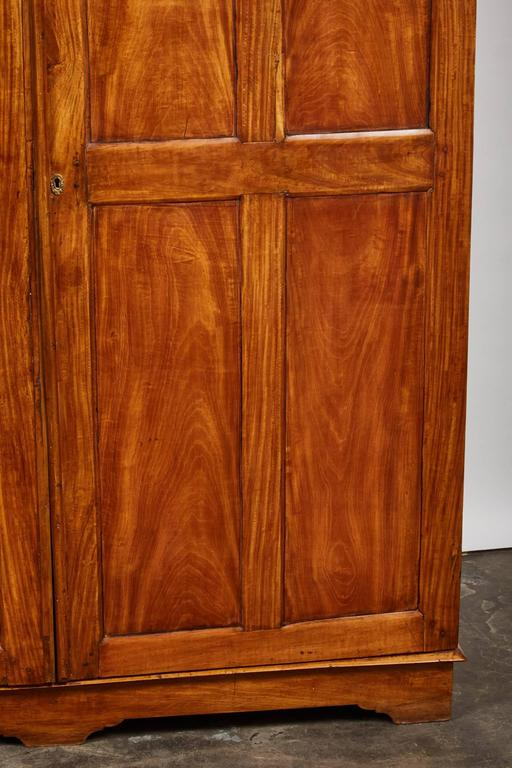 19th Century Two-Door Simple Satinwood Cabinet For Sale 3