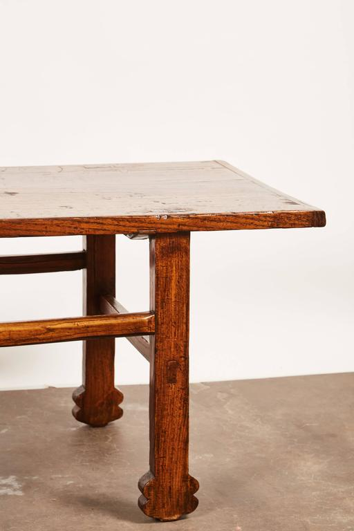 Early 19th Century Chinese Elm Table In Good Condition For Sale In Pasadena, CA