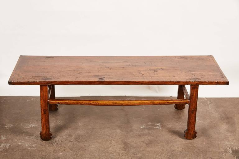 Early 19th Century Chinese Elm Table For Sale 1