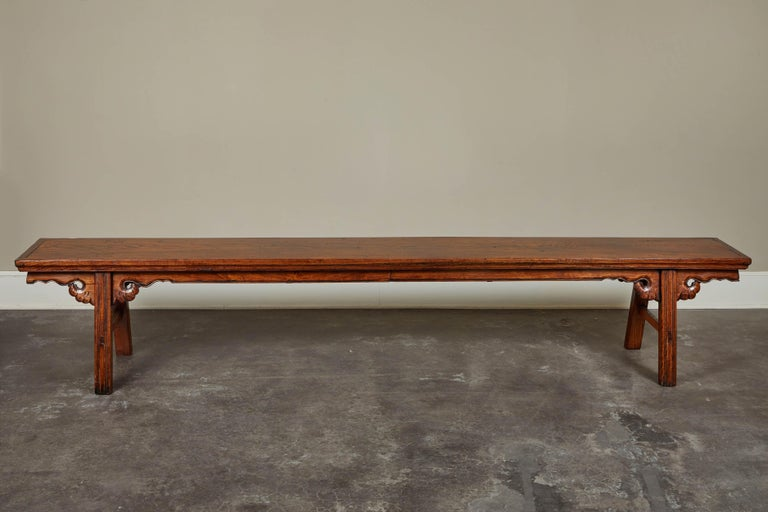 18th Century Elmwood Bench For Sale 3