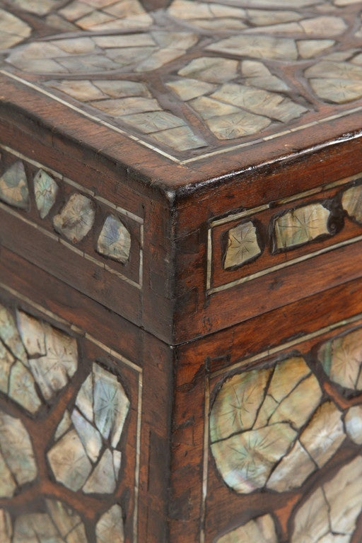 Mother Of Pearl Trunk At 1stdibs