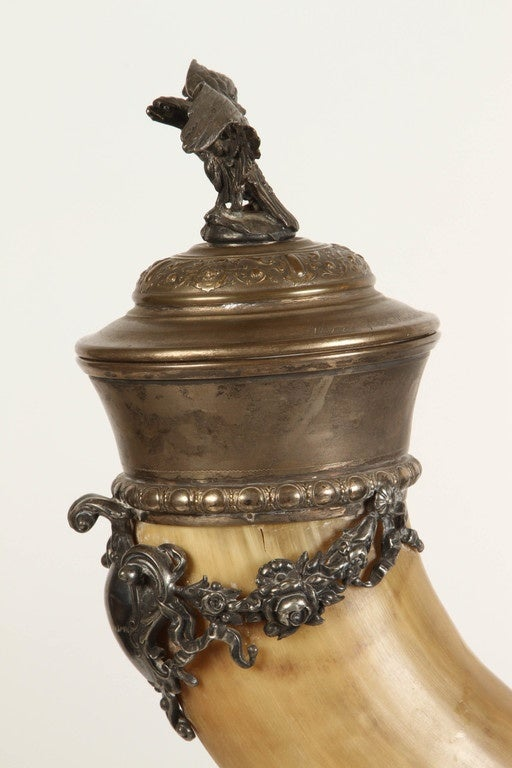 19th Century Drinking Horn For Sale 3