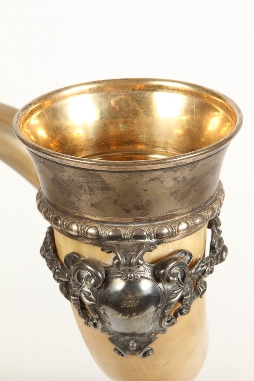 19th Century Drinking Horn For Sale 6