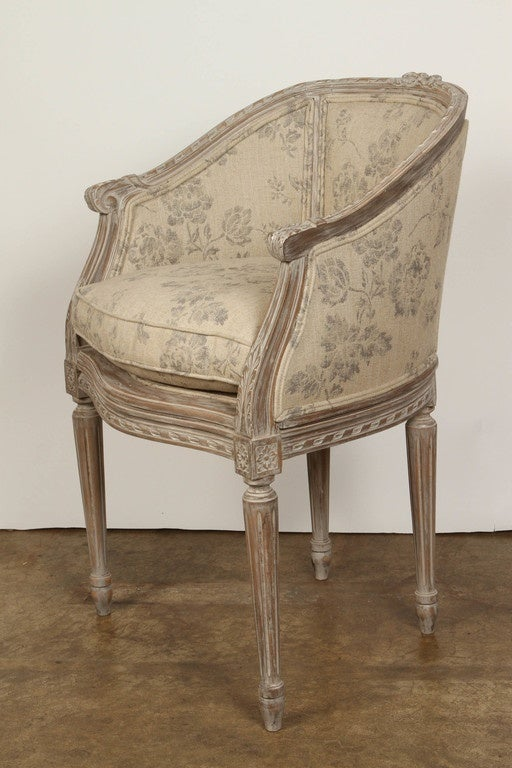 late 19th century french boudoir chair for sale at 1stdibs. Black Bedroom Furniture Sets. Home Design Ideas