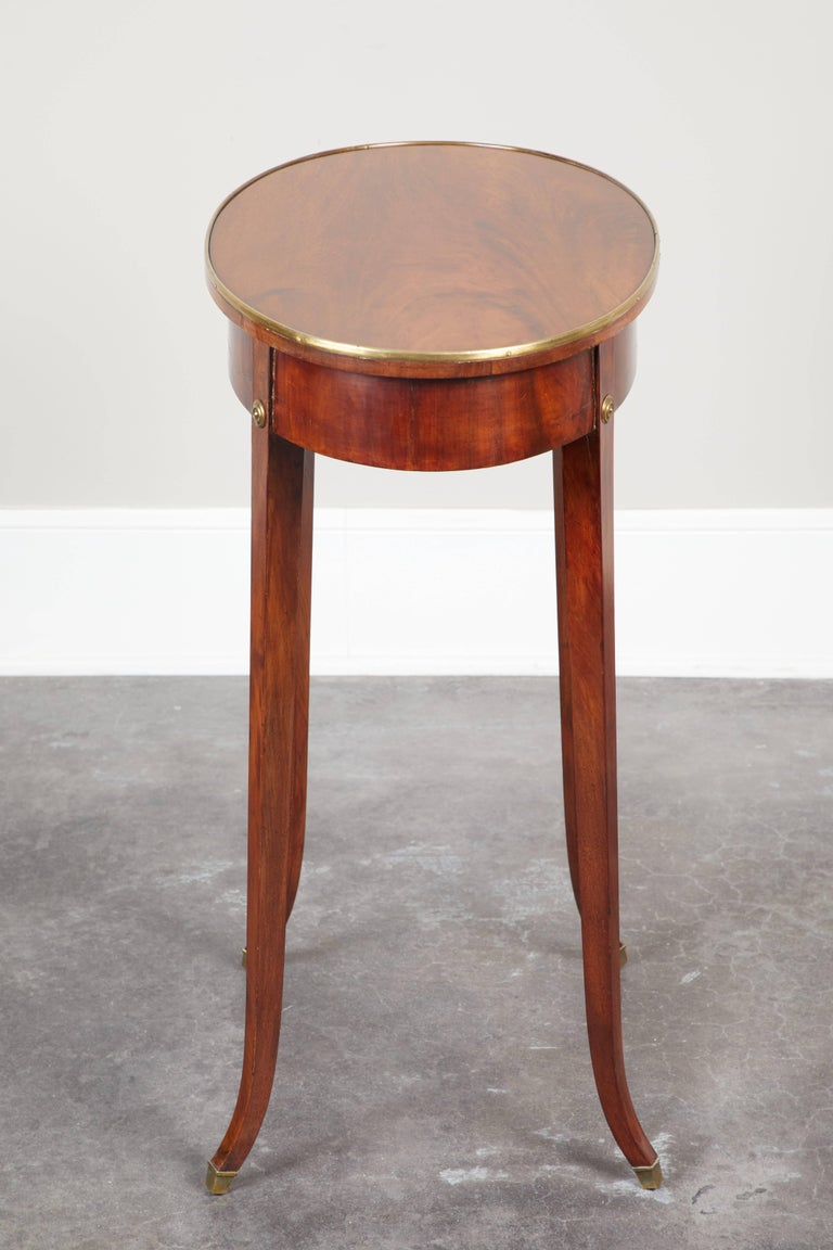 Pair of Early 19th Century Swedish Gustavian Side Tables For Sale 3