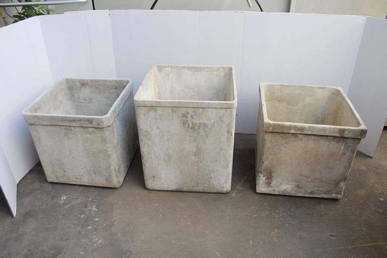 Vintage french cast cement planters at 1stdibs - Casting concrete planters ...