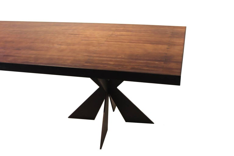 Modern Vintage Bowling Alley Table For Sale