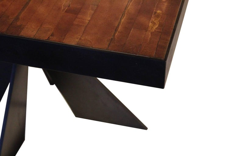 Steel Vintage Bowling Alley Table For Sale