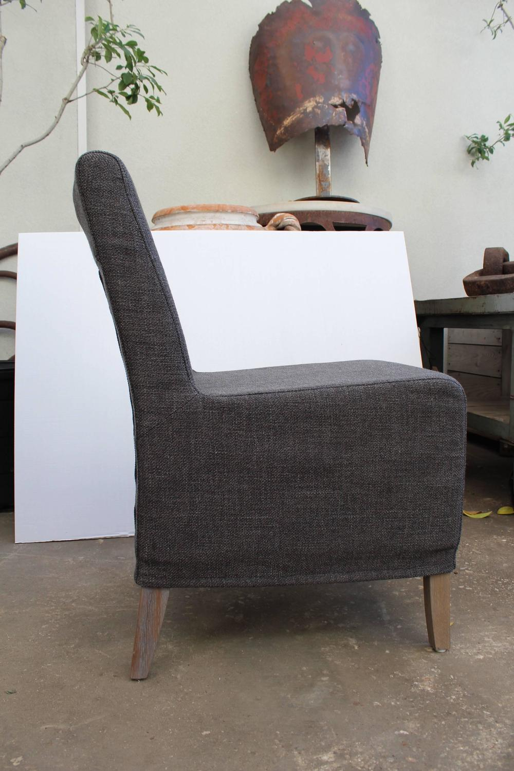 Slip Cover Side Chair For Sale at 1stdibs