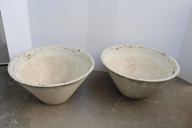 Antique cast cement planters at 1stdibs - Casting concrete planters ...